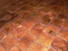 barnwood bricks end grain flooring