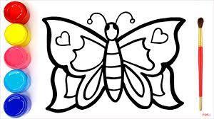 53+ Tranh tô màu côn trùng dễ thương cho bé tập tô