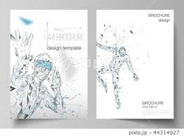 The Vector Layout Of A4 Format Modern Cover Mockups Design Templates