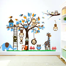 girl monkey wall decals for nursery baby nursery decor cute wall decals monkey baby nursery vinyl