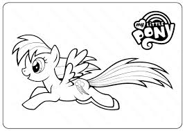 More than 5.000 printable coloring sheets. Printable My Little Pony Coloring Pages Book Pdf