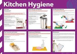 Food Hygiene Poster Kitchen Hygiene Poster Photographic Seton Uk