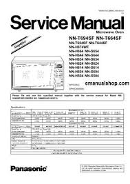 panasonic microwave oven nnt694sf service manual download service Microwave Transformer Schematics at Panasonic Microwave Schematics