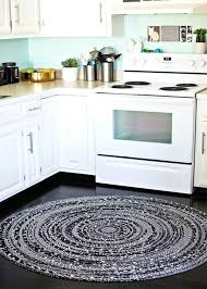 braided kitchen rug stylish round kitchen rugs with black and white round braided rug for kitchen