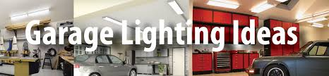 garage lighting ideas