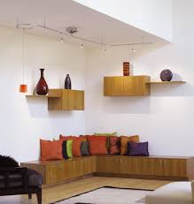 track lighting for artwork. Track Lighting Is A Versatile Way To Light Up Room. Here, Spotlights Are Used Accentuate Glass Artwork On The Shelves. Pendant Also Suspended From For