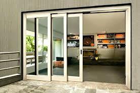 triple sliding glass door triple sliding s door wonderful patio doors folding to back as shown triple sliding glass door