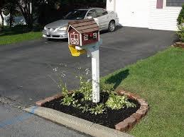 Other Landscaping Around Mailbox Post Landscaping Around Mailbox