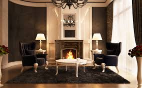 Living Room Luxury Designs Luxury Living Room With Fireplace Modern Homes Interior Design
