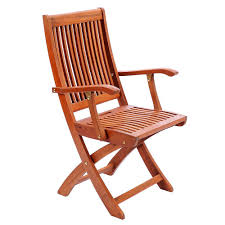 outdoor wooden chairs with arms. Fine Wooden Amazoncom  Achla Designs Eucalyptus Wood Indoor Outdoor Folding Chair  With Arms Patio Dining Chairs Garden U0026 For Wooden With O