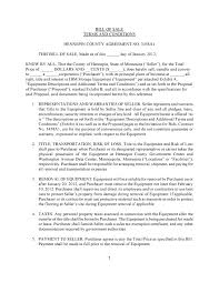 Free Minnesota Ibm Storage Equipment Bill Of Sale Form Pdf