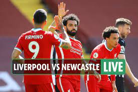 Liverpool vs Newcastle LIVE: FREE live stream, scores, TV channel as Salah  put the Reds ahead