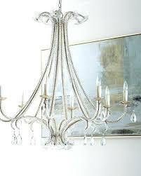 8 light chandelier glass flower dsi costco