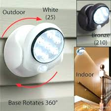 battery operated motion sensor light security motion activated led light beautiful battery operated motion activated led
