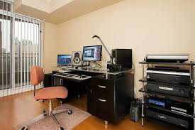 home office studio. Contemporary Office Home Office Studio Creative On Inside Inspirational Workspace 60 Awesome  Setups Hongkiat 10 Throughout