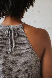 Crochet Halter Top Pattern