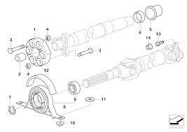 Realoem online bmw parts catalog rh realoem 2 piece drive shaft alignment 91 ford