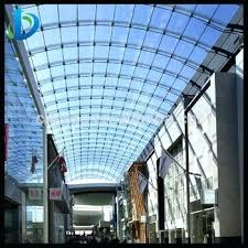 high quality curved glass roofing panels clear roof polycarbonate home depot canada
