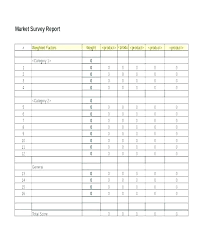 Survey Template Doc Survey Template Doc 4 Restaurant Market Survey