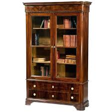 cherry bookcase with doors solid wood bookcases with doors bookcases with glass door solid wood bookcases