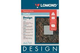 """<b>Глянцевая</b> дизайнерская <b>фотобумага LOMOND</b> """"Кожа"""" A4, <b>230г</b> ..."""