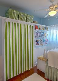 curtain closet door