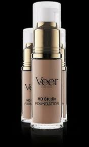 Veer Cosmetics Liquid Hd Studio Foundation Medium Beige 0 68