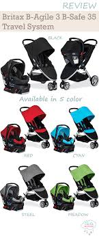 britax travel system color options updated