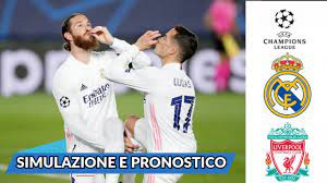 ⚽ REAL MADRID VS LIVERPOOL - Champions League - Ottavi di Finale (Andata) -  Pronostico Fifa 21 !!! - YouTube