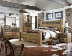 Oversized Bedroom Furniture King Bed With Oversized Square Posts By Standard Furniture Wolf