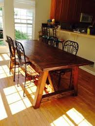square large solid wood dining table chair