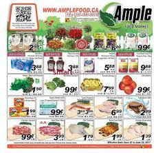 ample foods flyer ample food market flyer june 23 to 29
