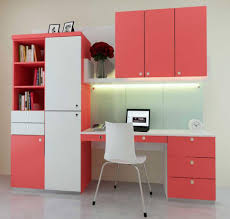 office wall furniture. Interior Stupendous Home Office Room With Pink Furniture Wall O