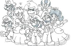 Coloring Pages Mario Brothers Coloring Pages Brothers Coloring Pages