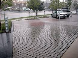 Pervious Pavers Design Permeable Paving In Parking Lot Pavement Design Pavement