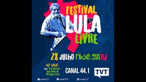 Resultado de imagem para festival lula livre
