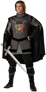 dark knight meval round table mens costume fancy dress up