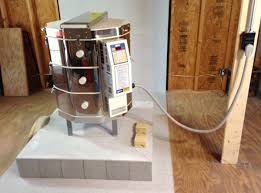 kiln installation and preorder checklist l l electric kilns kiln on a cinderblock stand