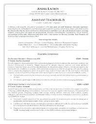 Teachers Aide Resumes Teacher Assistant Resume Example Resume Samples Teacher Sample