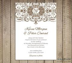 Free Indesign Template Wedding Invitation Wedding Dress Image