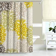 smlf mustard yellow and beige shower curtain here to enlarge shower curtain green and brown bathroom