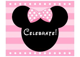 Free Minnie Mouse Birthday Invitations Download These Free Pink Minnie Mouse Party Printables