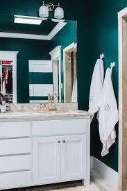 bathroom update w valspar ace hardware