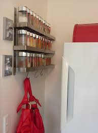 Next Coat Rack Splashy wall mounted spice rack in Kitchen Contemporary with Wall 21