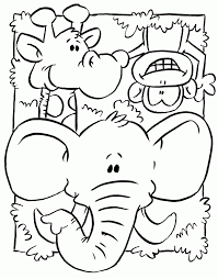 Animal coloring pages for kids are an excellent way to learn about these or those animals who inhabit our planet. Wild Animal Coloring Pages Best Coloring Pages For Kids Zoo Animal Coloring Pages Zoo Coloring Pages Animal Coloring Pages