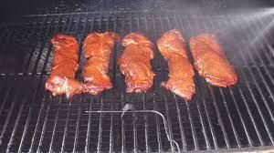 smoked pork riblets on oklahoma joe s