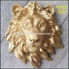 metal wall art bronze lion head sculpture bronze brass lion