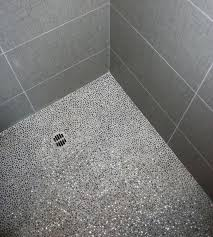 pebble tile shower floor tiles outstanding mosaic options ideas cleaning