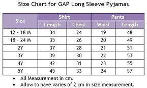 Gap Shirt Size Chart Gap Kids Shirt Size Chart Gap Size Chart Jeans Oasis