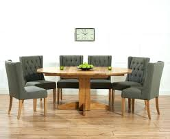 round extending dining table solid oak round extending dining table with fabric chairs 8 solid oak round extending dining table